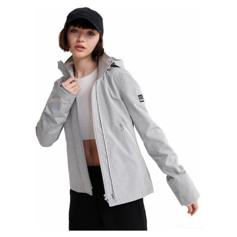 Superdry Jacke Damen LS ESSENTIALS SD TECH VELOCITY Grey Marl