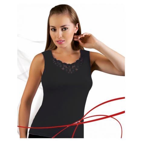 Damen Top & Unterhemd Berta plus black Emili