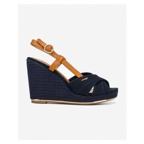 Wrangler Isla Raval Schuhe mit Keilabsatz Blau