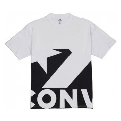 Converse STAR CHEVRON ICON REMIX TEE weiß - Herrenshirt