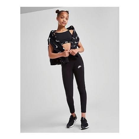 Nike Girls' Sportswear Favourites Leggings Kinder - Black/White - Kinder, Black/White