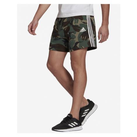 adidas Performance Essentials Camouflage Shorts Grün