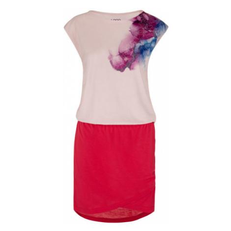 Loap ALGERA rosa - Sommerkleid