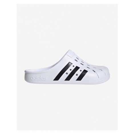 adidas Performance Adilette Clog Pantoffeln Weiß