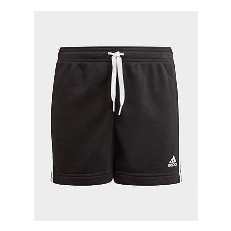Adidas Essentials 3-Streifen Shorts - Black / White - Kinder, Black / White