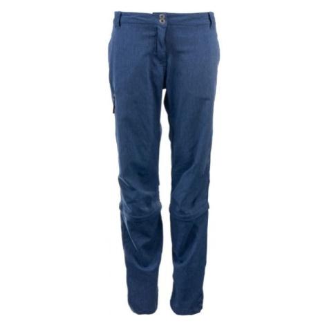 ALPINE PRO CHECKA blau - Damen Outdoorhose