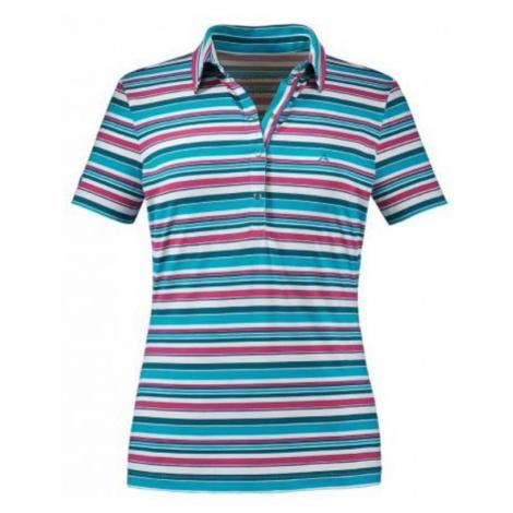 Damen T-Shirt Schöffel Ursel UV blue