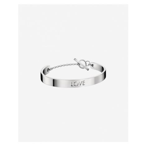 Calvin Klein Message Armband Silber