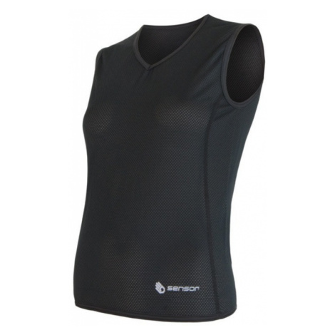 Damen Scampolo Sensor Coolmax Fresh Air V-Ausschnitt black 17100018