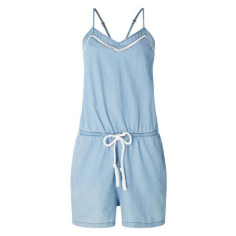 Blaue overalls