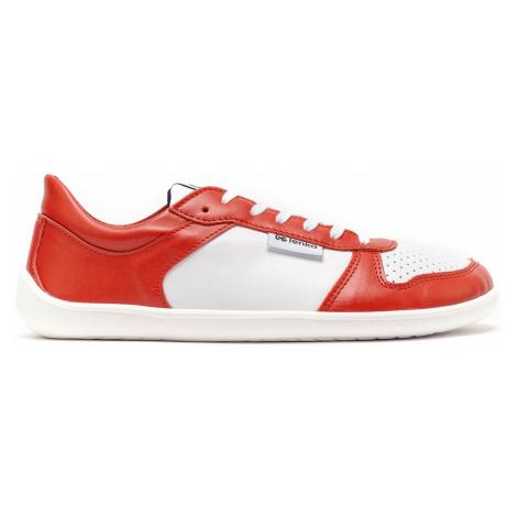 Barefoot Sneakers Be Lenka Champ - Patriot - Red & White 35