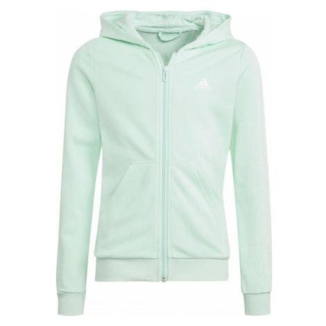 adidas LIN FZ HOODIE - Sweatshirt für Mädchen