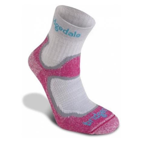 Socken Bridgedale CoolFusion Speed Trail Women's dunkel pink/303
