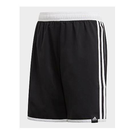 Adidas 3-Streifen Badeshorts - Black, Black