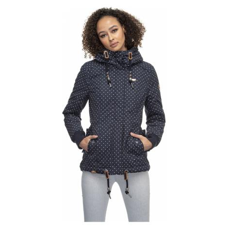 Ragwear Jacke Damen DANKA DOTS 2021-60016 Dunkelblau Navy 2028