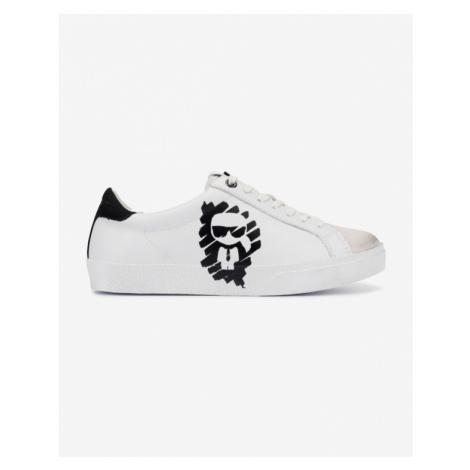 Karl Lagerfeld Skool Ikonic Tennisschuhe Weiß