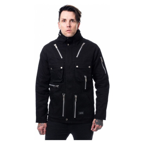 Herren Jacke POIZEN INDUSTRIES - KINGSTON - SCHWARZ - POI857 XXL