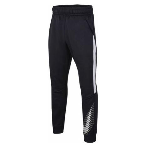 Nike THERMA GFX TAPR PANT B schwarz - Jungen Trainingshose