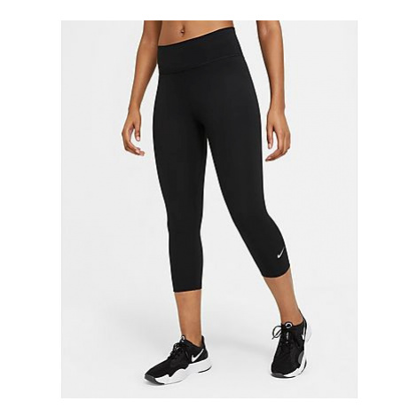 Nike One Capri Leggings - Black/White - Damen, Black/White