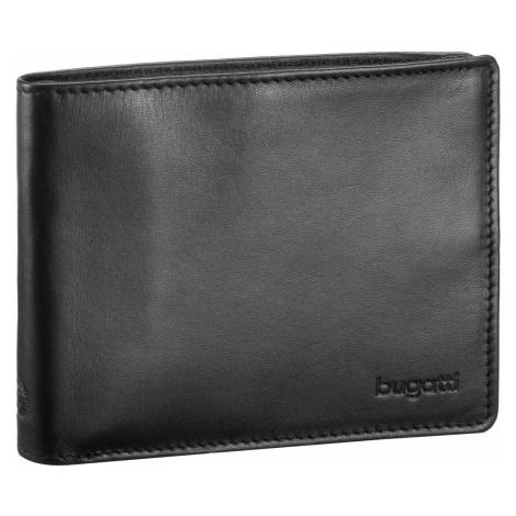 Bugatti Geldbörse Primo Coin Wallet 10 Kartenfächer Schwarz (0.2 Liter)