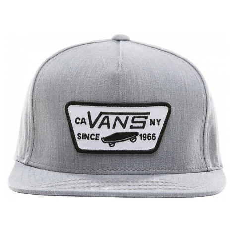 VANS Kinder Full Patch Snapback (8-14+ Jahre) (heather Grey) Youth Grau, One Size