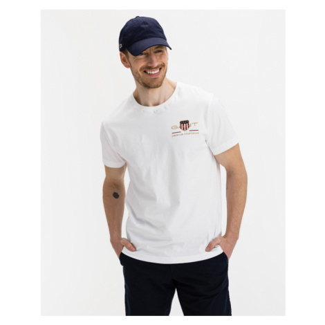 Gant T-Shirt Weiß