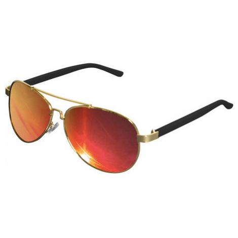 Urban Classics Sunglasses Mumbo Mirror gold/red