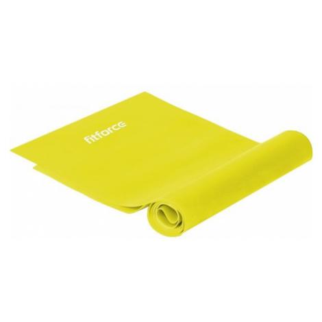 Fitforce EXEBAND250x0,015 gelb - Gymnastikgummi
