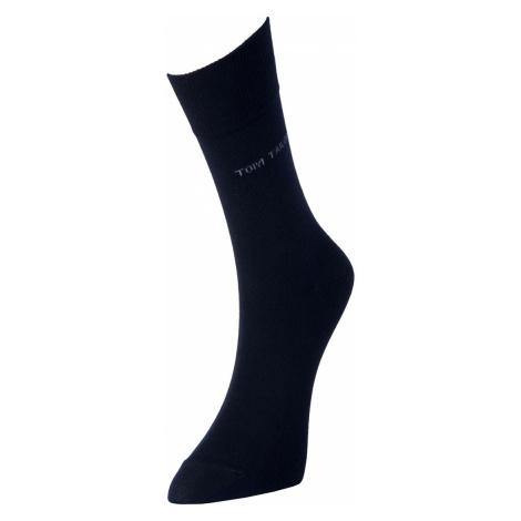 TOM TAILOR Herren Basic Socken im Doppelpack, blau, unifarben