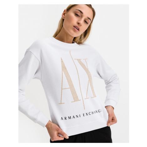 Armani Exchange Sweatshirt Weiß