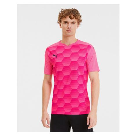 Puma teamFINAL 21 T-Shirt Rosa