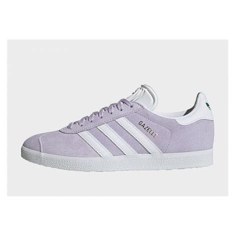 Adidas Originals Gazelle Damen - Purple Tint / Cloud White / Glory Green, Purple Tint / Cloud Wh