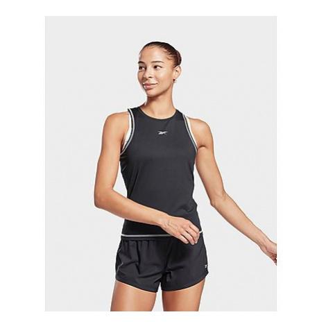 Reebok workout ready mesh tanktop - Black - Damen, Black