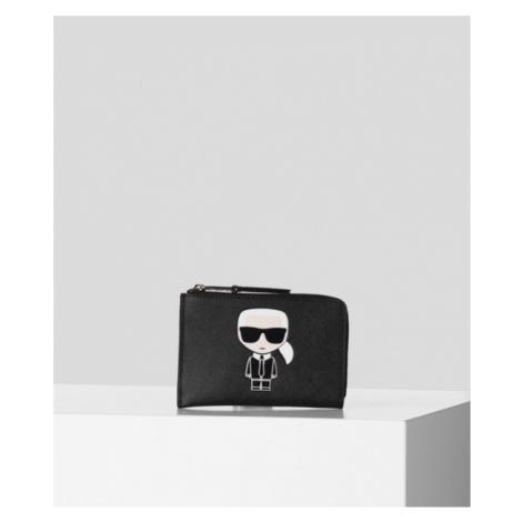 K/IKONIK KARTENETUI MIT REISSVERSCHLUSS OBEN Karl Lagerfeld