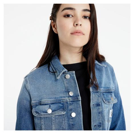 Calvin Klein Jeans Cropped Denim Jacket Denim Light
