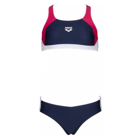 Arena G REN TWO PIECES dunkelblau - Mädchen Bikini