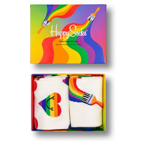 Happy Socks Geschenkbox PRIDE SOCKS GIFT SET 2-PACK XPRI02-9300 Mehrfarbig
