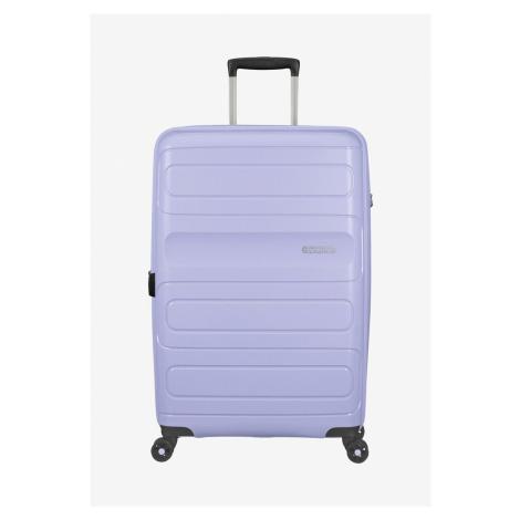 American Tourister Sunside Spinner M (68 cm) erweiterbar Hartschale Koffer Pastel Blue