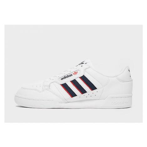 Adidas Originals Continental 80 Stripes Herren - Cloud White / Collegiate Navy / Vivid Red - Dam