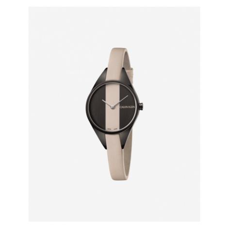Calvin Klein Rebel Armbanduhr Braun Beige