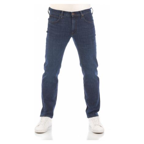Lee Herren Jeans Daren Zip Fly - Regular Fit - Blau - Dark Bluegrass