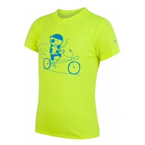 Kinder T-Shirt Sensor COOLMAX FRESH PT PIRATE reflex yellow 17100041