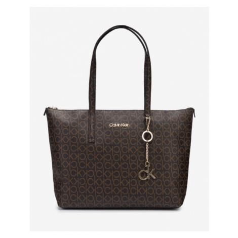 Calvin Klein Handtasche Schwarz Braun