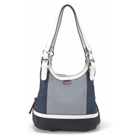 TOM TAILOR Damen Shopper Juna Flash, blau