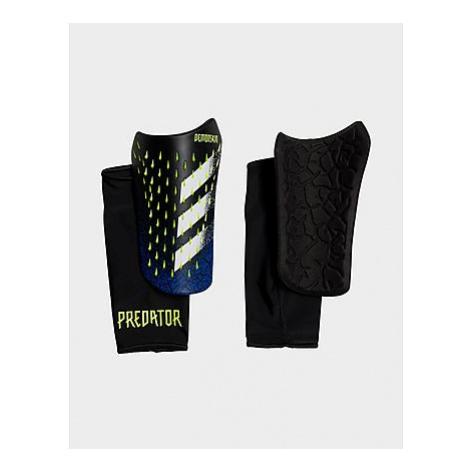 Adidas Predator Competition Schienbeinschoner - Black / White / Solar Yellow - Herren, Black / W