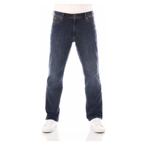 Wrangler Herren Jeans Texas - Regular Fit - Blau - Classic Strike