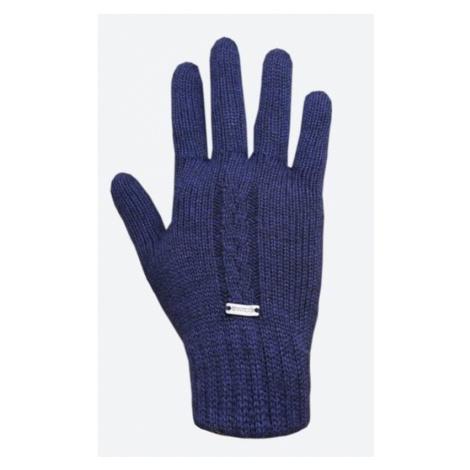 Gestrickte Merino Handschuhe Kama R103 108 dark  blue