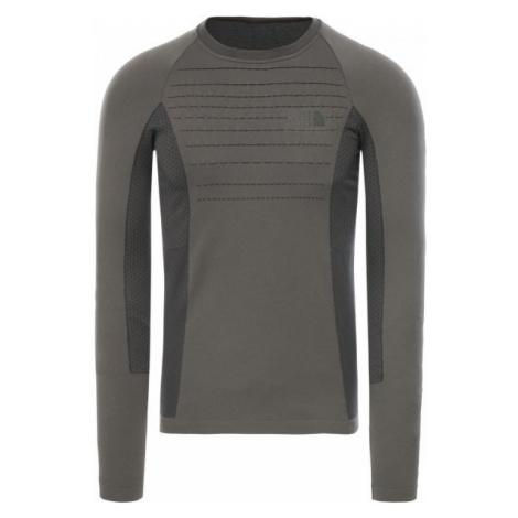 The North Face SPORT L/S CR N M grau - Herren Shirt