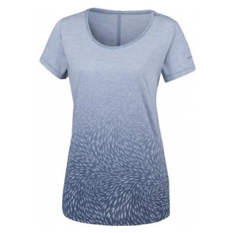 Columbia OCEAN FADE SHORT SLEEVE TEE blau - Damen Shirt