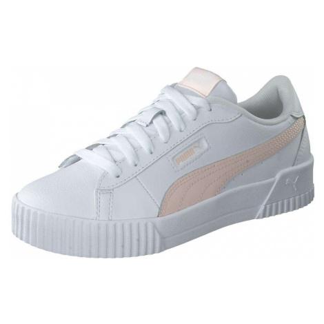 PUMA Carina Crew Sneaker Damen weiß